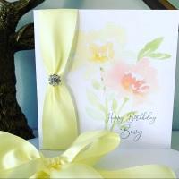 Luxury Personalised Birthday Card