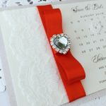 Save the date calendar cards