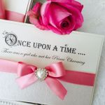Fairytale Once upon a time save the date cards