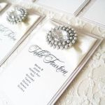 Table plan with crystals and Pearls - Sienna Design