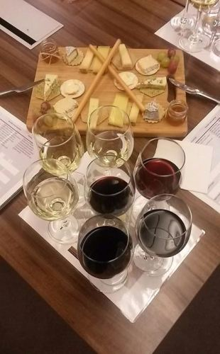 Cheese and wine tasting 3