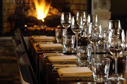 Private wine event