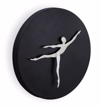 Mukul Goyal Circumstance Wall Clock, Black
