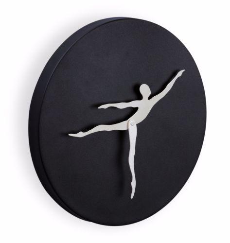 Mukul Goyal Circumstance Wall Clock, Black