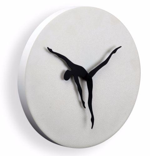 Mukul Goyal Circumstance Wall Clock, White