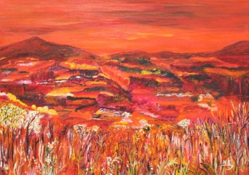 Landscape in Red