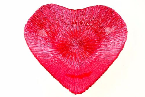 Fuchsia Heart Dish [Kingston]