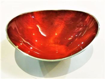 Oval Bowl Small Orange