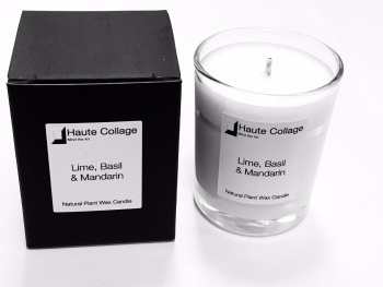 Lime Basil & Mandarin - Scented Votive / Candle