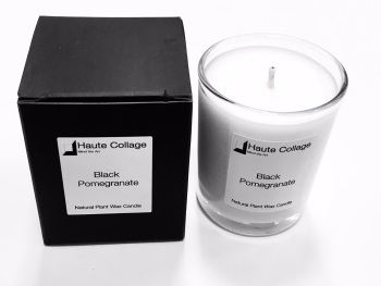 Black Pomegranate - Scented Votive / Candle