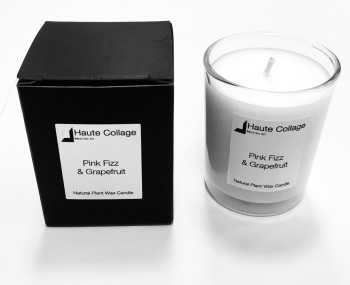 Pink Fizz & Grapefruit - Scented Votive / Candle