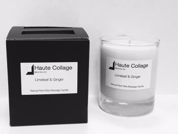 Organic Massage Candle - Stargazer & Hibiscus