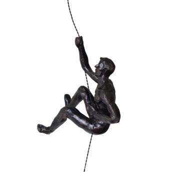 6x Climbing Buddies  - Black/Bronze Colour
