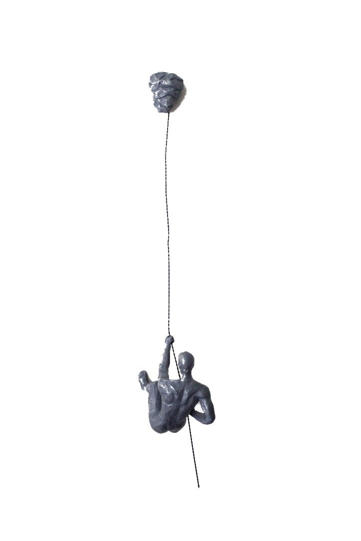 Antique Silver Colour - Rock Climbing Man A or C