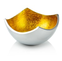 Four Point Bowl Gold