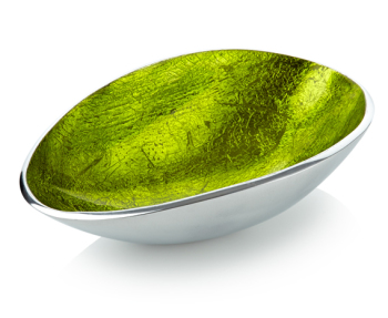 Oval Bowl Green