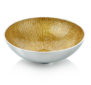 Round Bowl Gold