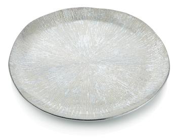 Round Platter Silver