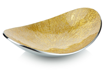Oval Dish Gold