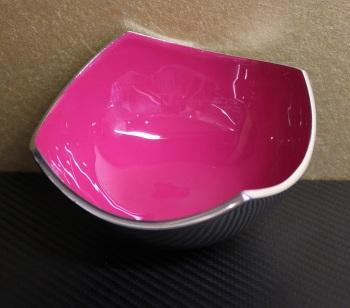 Four Point Bowl Pink Matt