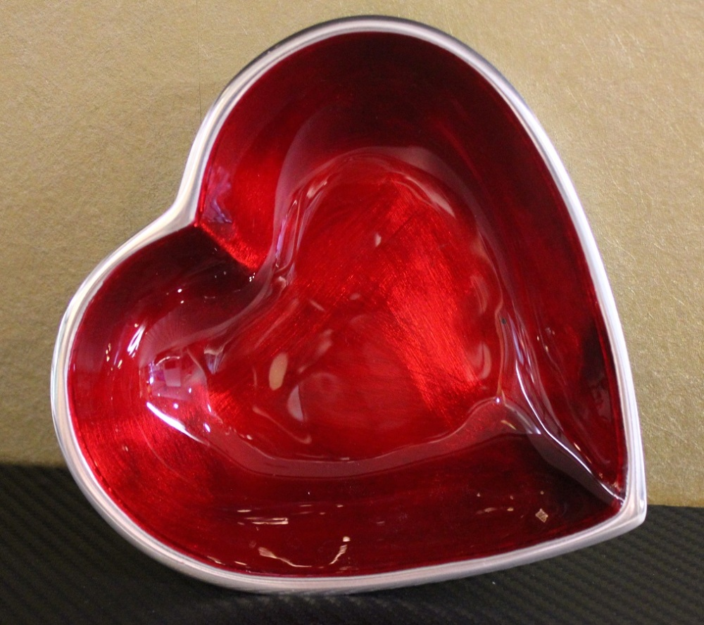 Heart Bowl Red