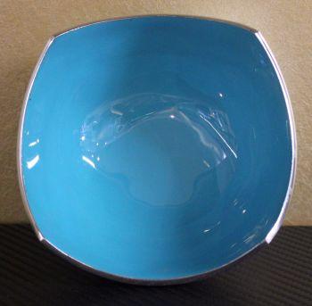 Four Point Bowl Light Blue Matt