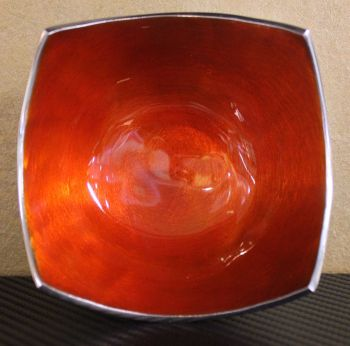 Four Point Bowl Orange