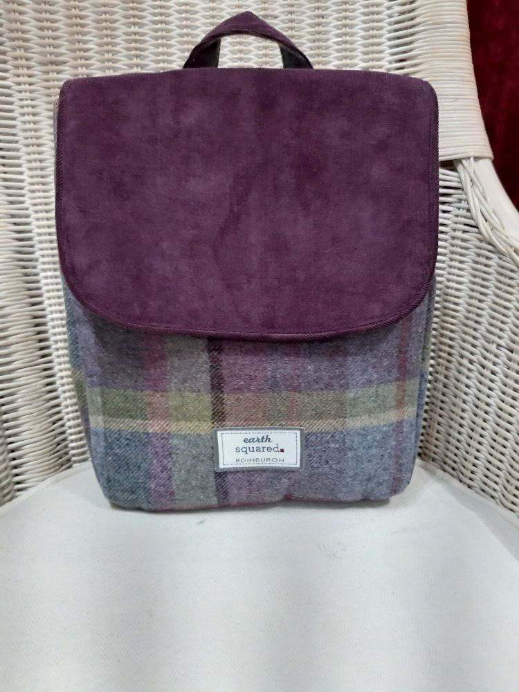 Fairtrade Tweed Back pack