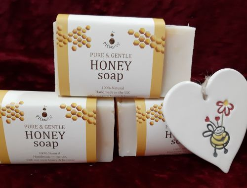 Filberts of Dorset honey soap