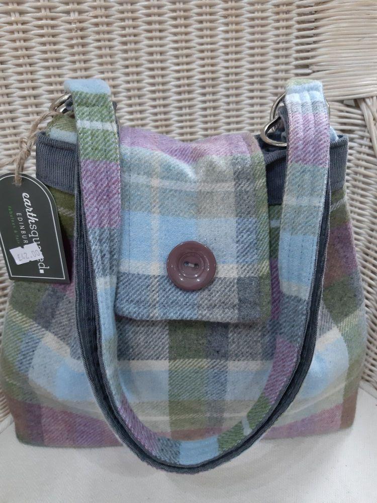 Fair trade handbag - Ava tweed