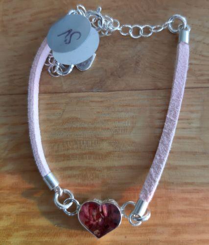 Real flower Funky bracelets