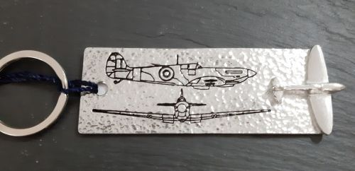 Spitfire bookmark and /or key ring