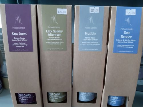 Diffusers by Purbeck Candles