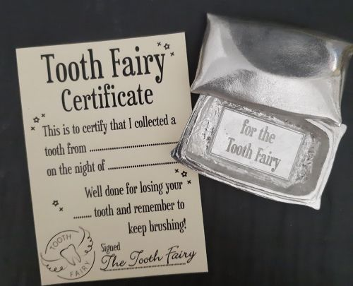 Tooth fairy pillow box