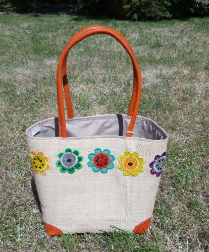 Small Mexican sunflower  basket