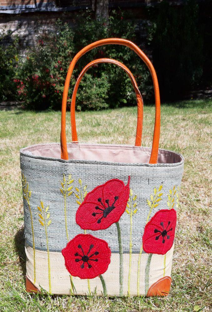 Medium Poppy basket