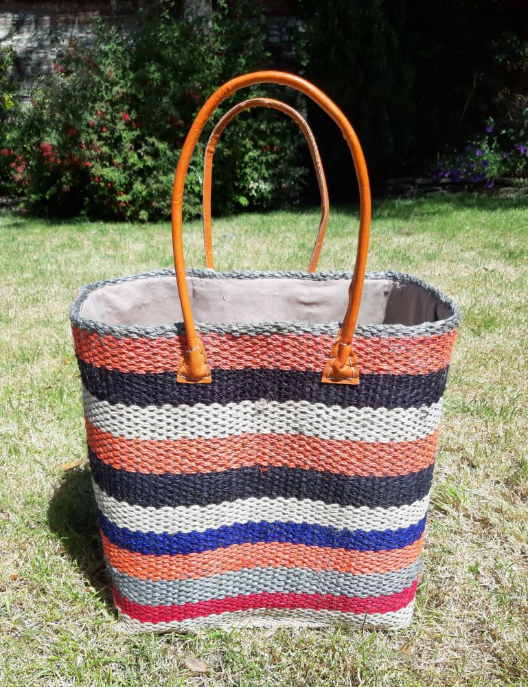 Large sisal multi basket