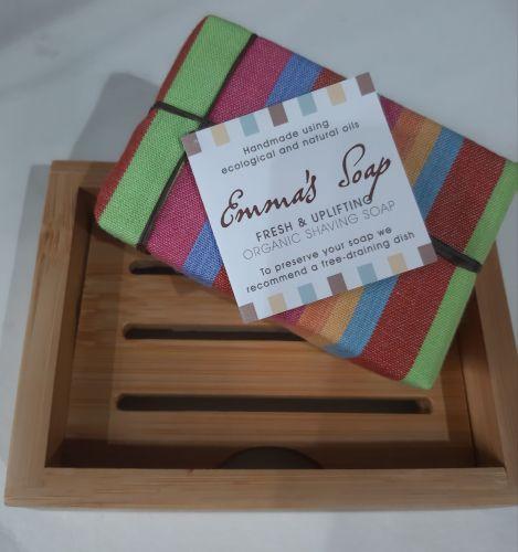 Emma's Soap Bamboo soap dish