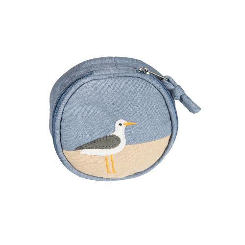 Coastal jewellery pouch