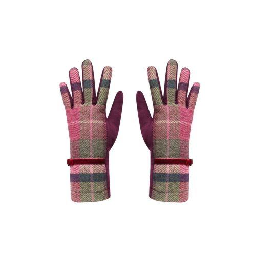 Tweed Gloves in Hawthorn