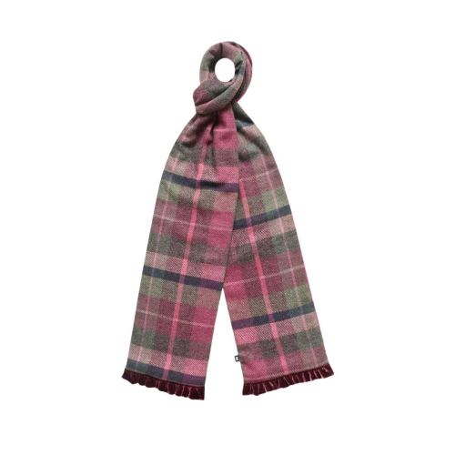 Tweed scarf in Hawthorn