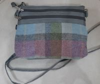 Tweed small cross body bag in Forest Flower