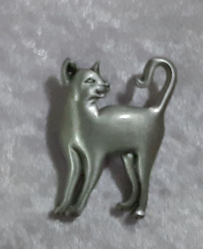 style pewter Brooch