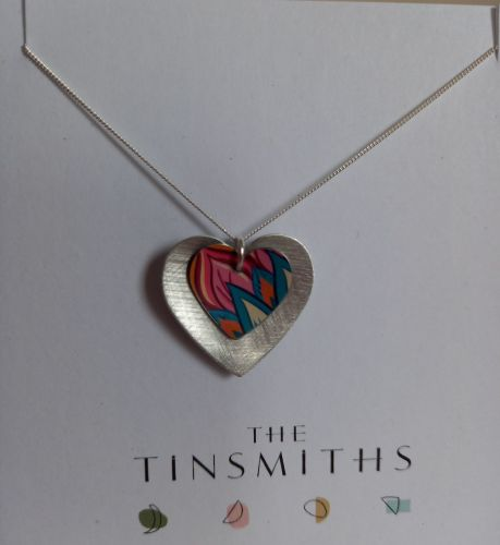 Pretty Double heart necklace