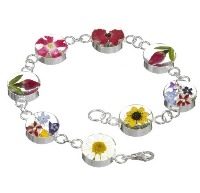 Real flower jewellery