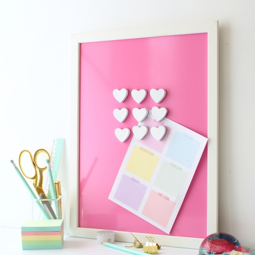 Magnetic noticeboard - Cupcake  (M1) - 2 sizes