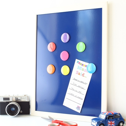 Magnetic noticeboard - Daisies (M9) - 2 sizes