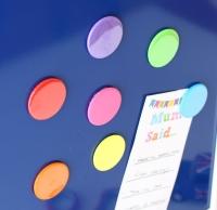 Magnet - 7 Rainbow circle magnets