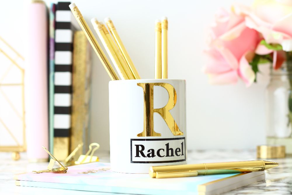 Personalised Desk Tidy