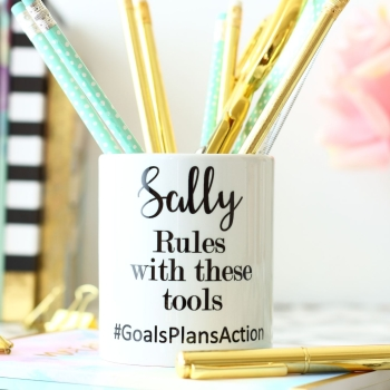 Personalised Ceramic Keepsake - ...rules with these tools